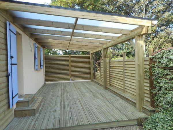 Innovbois habitat nos r alisations en bois pour les for Pose de lames de terrasse